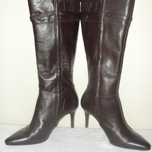 brown leather boots by Ralph lauren size 7.5